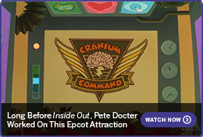Long Before Inside Out, Pete Docter Worked On This Epcot Attraction WATCH NOW