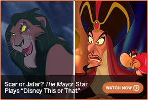 Scar or Jafar? The Mayor Star Plays Disney This or That WATCH NOW