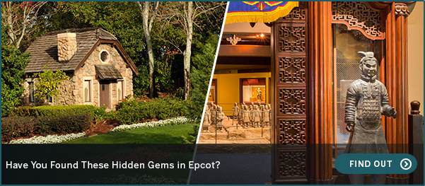 Have You Found These Hidden Gems in Epcot? FIND OUT