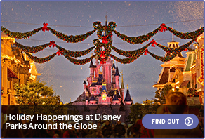 Holiday Happenings at Disney Parks Around the GlobeFIND OUT
