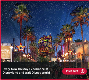 Every New Holiday Experience at Disneyland and Walt Disney WorldFIND OUT