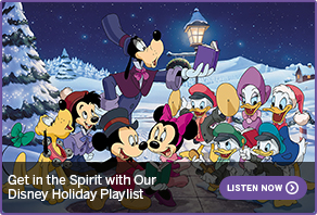 Get in the Spirit with Our Disney Holiday Playlist LISTEN NOW