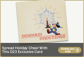 Spread Holiday Cheer With This D23 Exclusive Card DOWNLOAD NOW