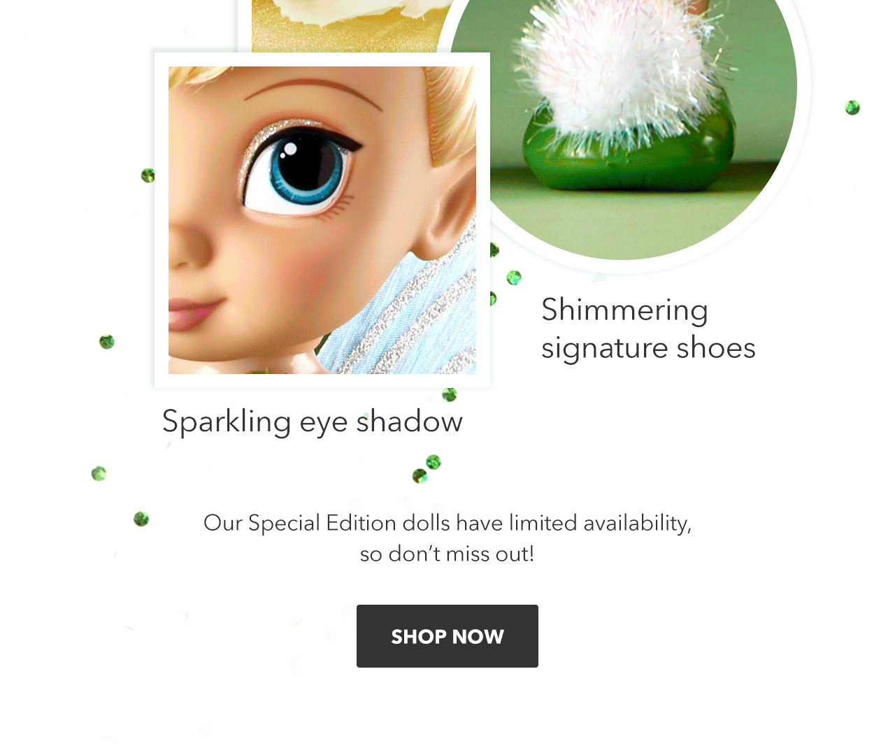 Tinkerbell Limited Edition Doll | Shop Now