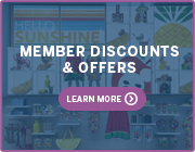 MEMBER DISCOUNTS and OFFERS LEARN MORE >