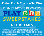 DMR: Toy Story Land Sweepstakes